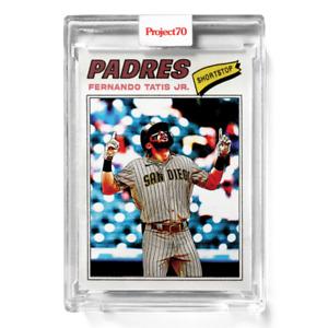 Topps Project 70 Card 651 - Fernado Tatis Jr. by Matt McCormick Presale
