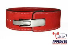 Strength Shop 10MM RED POWERLIFTING LEVER BELT (MEDIUM) - FAST SHIPPING