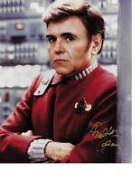 """Walter Koenig Star Trek """"Chekov"""" Hand Signed Color Photograph in Person Rare COA"""