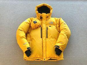 The North Face Summit Series Himalayan Parka Jacket Yellow L / Large RRP £700