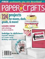 Paper Crafts magazine Mom dad Graduation Stitching projects Cupcake albums Cake