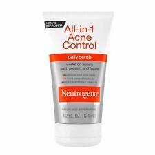 Neutrogena All-in-One Acne Control Daily Scrub 4.2 oz