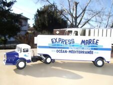 BERNARD 150 MB Camion Semi Remorque EXPRESS MAREE RAYNAUD Frères 1/43 Neuf