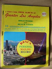 Postcard Foto Album of Greater Los Angeles 16 Color cards. Unused