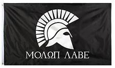 Military Flag 2' x 3' Molon Labe Come and Take Them Rothco 1517