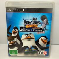 The Penguins Of Madagascar Dr. Blowhole Returns Again! - PS3 - Tested & Working!