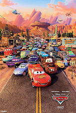 "Disney - Pixar - Cars  (11"" x 17"") Collector's Poster Print (T1) - B2G1F"