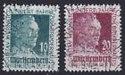 French Zone Württemberg 47/48 O 100Jahre Gustav-Werner Stiftung Postmarked