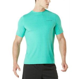 TSLA Tesla MTS04 HyperDri Short Sleeve Athletic T-Shirt - Heather Green