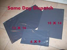 30 Strong Grey Mailing & Packaging Plastic Bags 3 Mixed Size's FREE POST