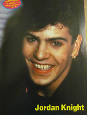 Jordan Knight, New Kids on the Block, Donnie Wahlberg, Full Page Pinup, NKOTB