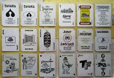 36 Diff Casino Jokers Single / Swap Playing Cards