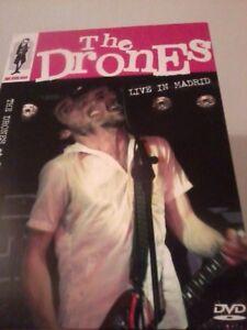 THE DRONES Live In Madrid DVD 2009 Australian Alternative Rock POST FREE