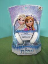Elsa Anna Disney Frozen Cool Tunes Headphones Parental Control Volume Limiter