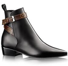3183fc9feccc Louis Vuitton Limited Edition CHARLOTTE Flat Ankle Boot Shoes 39