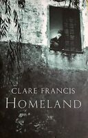 1st Edition Homeland by Clare Francis FREE AU POST very good used cond paperback