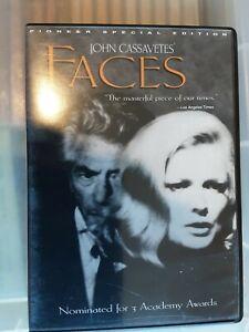 JOHN CASSAVETES FACES DVD