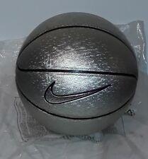 Basketball ball pallone basket nike vintage nba silver rare matchball size 7