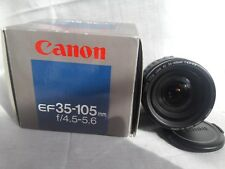 Canon lens EF 35-105 mm f/4.5-5.6