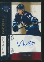 2019-20 Upper Deck Ultimate Collection Retro Rookie Auto Ville Heinola 052/225
