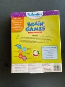Skillmatics Educational Game: Brain Games (6-99 Years)   Erasable and Reusable A