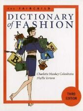 FAIRCHILD DICTIONARY OF FASHION (3RD EDITION) By Phyllis G. Tortora - NEW