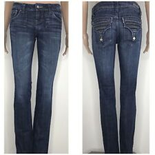 ZCO Premium Jeans Ladies / juniors Size 5 dark washed distressed Pants