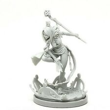 Kingdom Death Sexy Mage Pinup Lady Figures Unpainted Model Resin Kit Figure