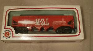 HO Scale Bachmann #43-1006-46 Quad Hopper No/Load  M~S~L 541085