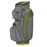 TaylorMade Supreme Cart Golf Bag 2020  - Grey/Dark Army