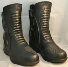 Joe Rocket Mens Meteor FX Leather Motorcycle Riding Boot Black, Size 7