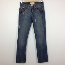 Z. Cavaricci Women's Distressed Jeans Size 3 Medium Wash
