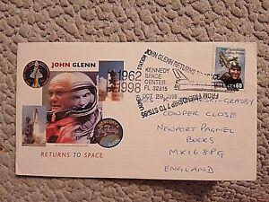 USA FIRST DAY COVER 1998 JOHN GLENN RETURNS TO SPACE