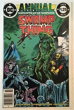 Swamp Thing Annual #2 DC 1985 1st Prototype Justice League Dark  VF+ 8.5
