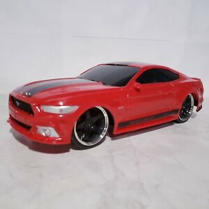 Jada Toys Big Time Muscle Hyper RC Red 2015 Ford Mustang GT 1:16 Scale