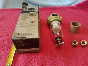 Sears Air Drive Tools Air Line Filter 50 Micron Threaded 3/8 in NPT Inlet 916009