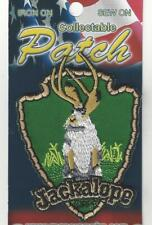 The Jackalope State of Wyoming Souvenir Patch