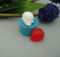 Small Skull  Silicone Mold  Crafts Jewelry,Resin,Polymer Clay.