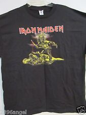 NEW - IRON MAIDEN 2007 BAND / CONCERT / MUSIC T-SHIRT 2XL / X X LARGE