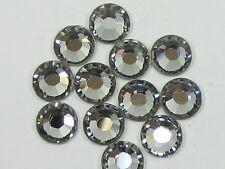 10ss BLACK DIAMOND HOTFIX swarovski rhinestones 1gr