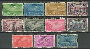 Caribbean  1cuba 1931 Airmail ☀ Used lot