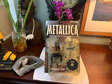 VINTAGE 2001 McFarlane Toys METALLICA Action Figure LARS ULRICH Rare Sealed