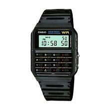 Casio CA53W-1ER Noir Alarme Chronomètre Bracelet En Résine Calculateur Montre