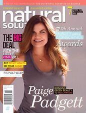 Natural Solutions January 2016 Paige Padgett The Little Pink Pill Pelvic Health
