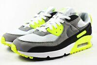 Nike Air Max 90 Mens Size 10 Shoes CD0881 103 Multicolor White Volt