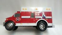 2009 Tonka Rescue Ambulance Red 3 Sirenes Alarm Funriso # 05979