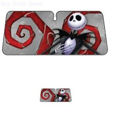 Nightmare Before Christmas Windshield Sunshade Sun Visor Cover Protector