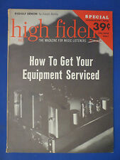 HIGH FIDELITY MAGAZINE JULY 1961 SHERWOOD S-7000 TEST REVIEW FISHER HK TUBE ADS