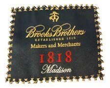 "BROOKS BROTHERS Black 1818 ""Makers & Merchants"" MADISON Blazer Jacket 45 R Mens"
