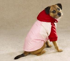 3-in-1 All-Terrain Dog Coat Detachable Hood Large - Pick Color